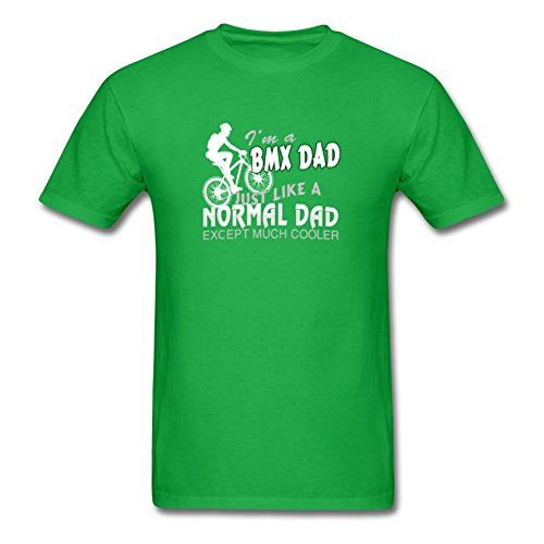 Cycling Dad Cooles T-Shirt Large,green0