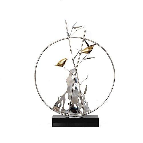 SUNGL Ornament Dschungel Element Kunst Schreibtisch Moderne Unterhaltsame Dekor Skulptur Couchtisch Home Office (Klar-glas-ornamente Für Handwerk)