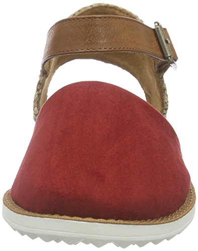 s.Oliver - 24627, Sandali Donna Rosso (Rot (RUBY 505))