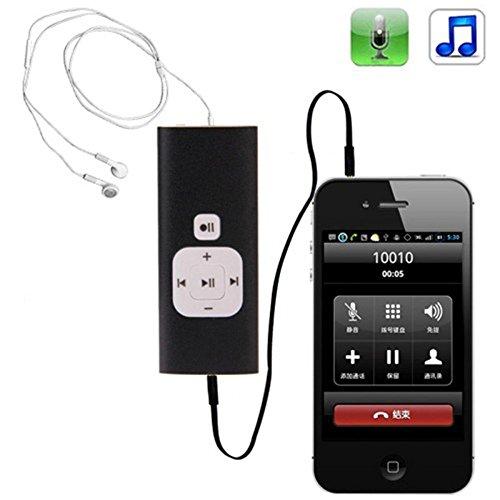 Interfaccia CTIA 1justlink, registratore Mp3 per registrazione telefonate e dittafono/registratore