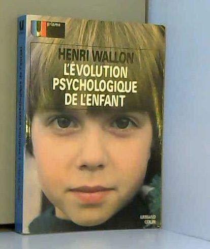 L'évolution psychologique de l'enfant