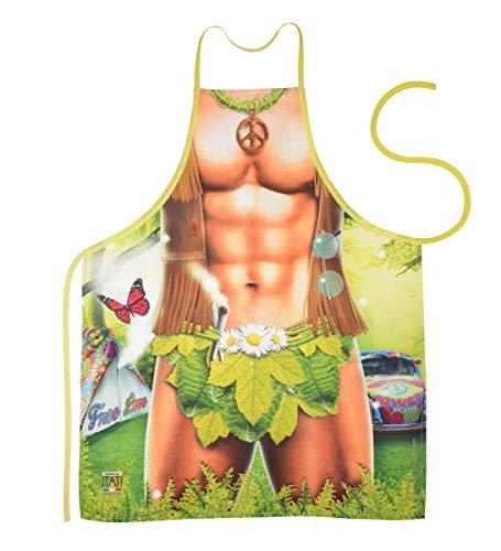 Fun-Grillschürze für den Hippie Man,