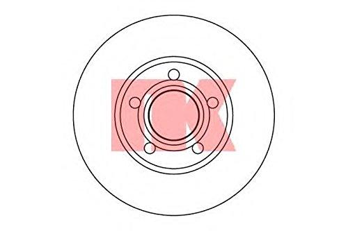 Preisvergleich Produktbild NK 204751 Bremsscheibe