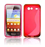 CUSTODIA GEL TPU SILICONE DOUBLE per SAMSUNG i9070 Galaxy Advance S COLORE ROSSO