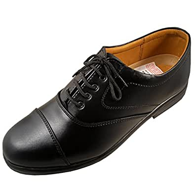 Action Shoes Men's Black Synthetic Leather Formal Shoe (Uk/India 10)