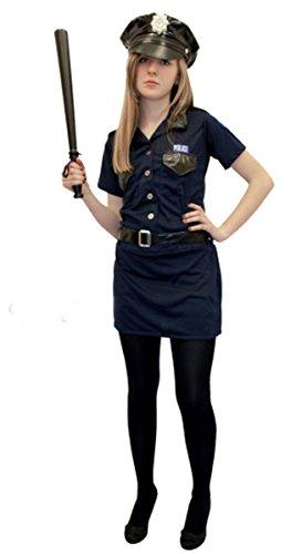 GCC Fashion Store Erwachsene Sexy Schwarz Polizei Frau Kostüm Damen Hen Night Party Outfit