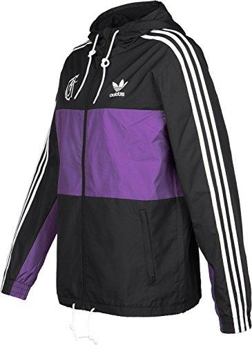 adidas Real Madrid Windbreaker Schwarz Lila