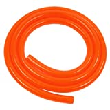 XSPC HighFlex Manguera 19/12.7mm, 2m, Rojo/UV Orange