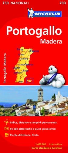 Portogallo, Madera 1:400.000