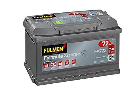Fulmen - Batterie voiture FA722 12V 72Ah 720A - Batterie(s)