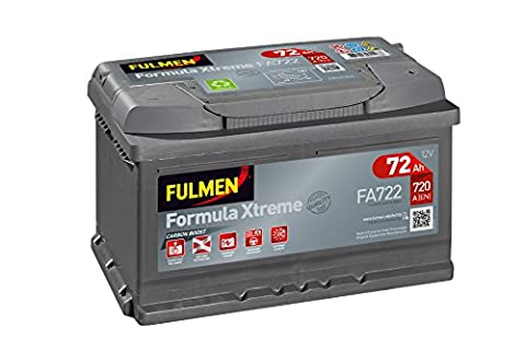 Batterie Voiture Diesel - Fulmen - Batterie voiture FA722 12V 72Ah