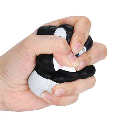 Muium Frauen stricken Stirnband handgemacht halten Sie warmes Haarband (Grau) - 5