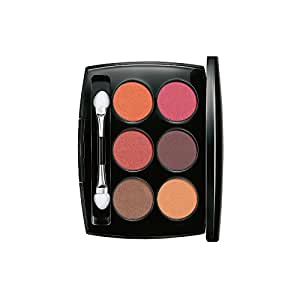 Lakmé Absolute Illuminating Eye Shadow Palette, French Rose, 7.5g