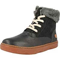 Camper KIDO Charcoal Leather Infant Ankle Boots