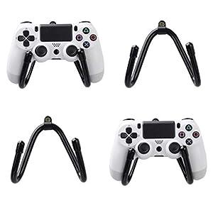 4 Stück Kleine Universal Game Controller Organizer Wandhalterung Halterung Haken Ständer für PS4 Xbox One Switch Pro Game Controller – Nicht im Lieferumfang enthalten Gamecontroller