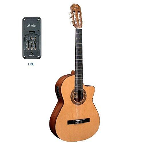 admira juanita electro guitare classique avec. Black Bedroom Furniture Sets. Home Design Ideas