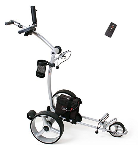 Elektro Golf Trolley CADDYONE 650,Funkfernbedienung