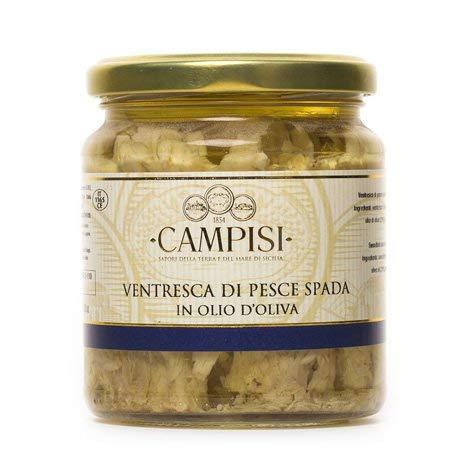TIPILIANO | Ventresca di pesce spada in olio di oliva | 220 gr.