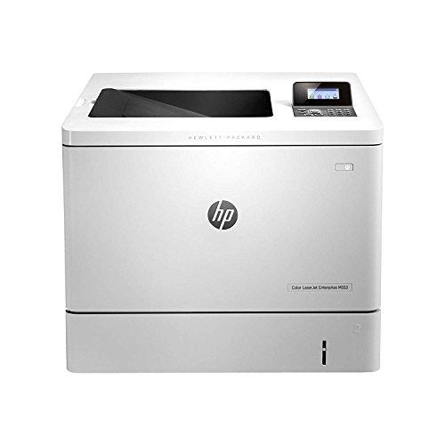 HP Laserjet Color Enterprise M553N - Impresora láser, 1.2 GHz, LCD de 4 líneas (gráficos en color) con teclado de 10 teclas, color blanco