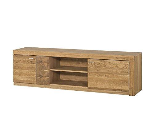 tv schrank tv lowboard velle eiche massiv natur furnier smash. Black Bedroom Furniture Sets. Home Design Ideas