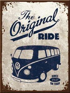 Preisvergleich Produktbild The original Ride - VW Bulli Magnet 6x8 cm Bus T1 T2 T3 T4 Samba Bully Volkswagen