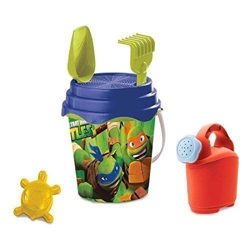 Ninja Turtle Eimer - Lively Moments Niedlichers Strandeimerset Ninja Turtles