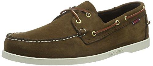 Sebago Docksides, Chaussures Bateau Homme Marron ( Brun Foncé )