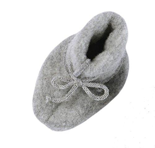 Engel  Baby Schühchen, Chaussures premiers pas pour bébé (fille) Gris