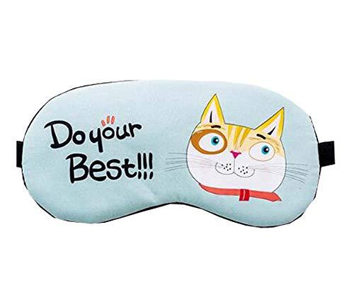 Bequeme Nachtmaske, Lovely Augenmaske, Ausgestattet Mit Ice Packs Schlafbrille