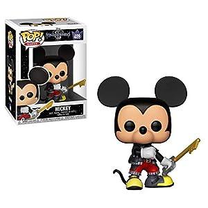 Funko- Pop Vinyl: Kingdom Hearts 3: Mickey Figura Coleccionable, Multicolor (34054)