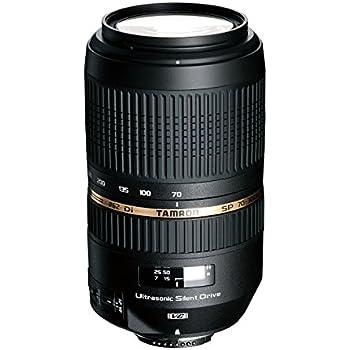 Tamron SP 70-300mm F/4-5.6 Di VC USD - Objetivo para cámara (SLR, 17/12, Zoom tele, Canon, Nikon, Sony, 4x, 8.15 cm)