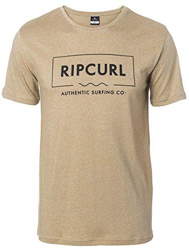 Herren T-Shirt Rip Curl Broken Angle T-Shirt Lead Gray