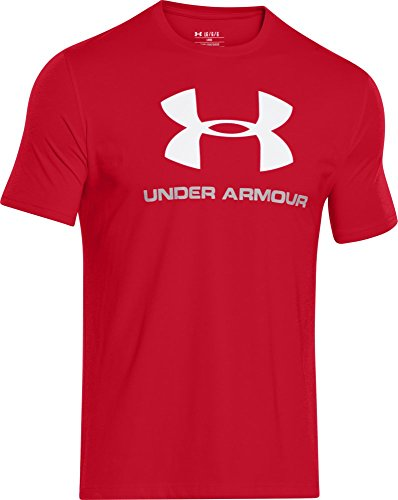 under-armour-cc-sportstyle-logo-herren-fitness-t-shirts-tanks-rot-m