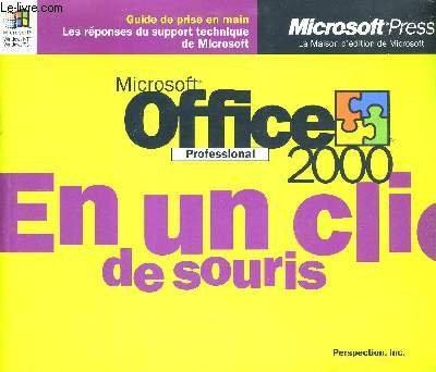 Office 1999-2000, découverte et initiation