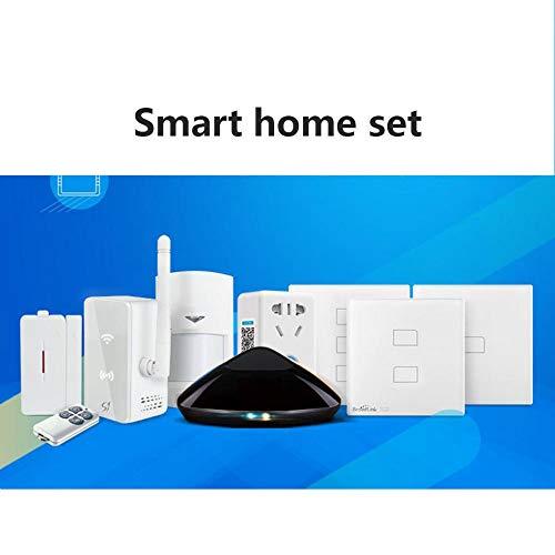 YANKAN Smart Home Set, Mobile Wifi Smart Home Infrarot-RF Smart Home Set