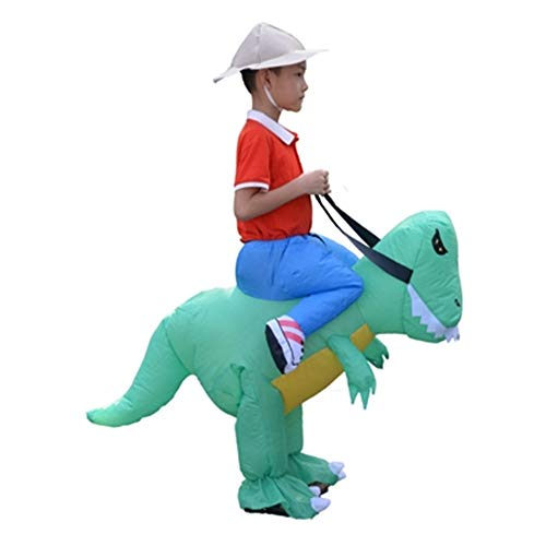 NBRTT Kinderaufblasbare Strauß-Kostüm-Halloween-Kostüm-Schlag-Party-Spiel-Ausländer wählen Mich für Erwachsenen verwandeln Giraffe Erwachsene riesigen Tieranzug lustig einzigartig aus (Kind Aufblasbare Strauß Kostüm)