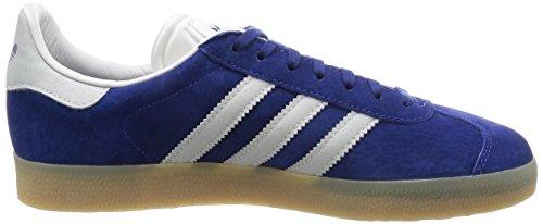 adidas Herren Gazelle Sneakers Azul (Unity Ink/Metallic Silver Sld/Gum)