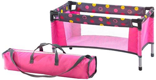 Bayer Chic 2000 652 24 - Puppen-Reisebett, funny pink (Reise-puppe Möbel)