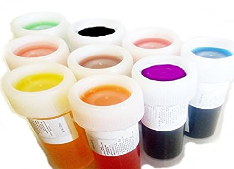 Food Colouring liquid Set of 9 x 20g Icing Colour Cakecolour