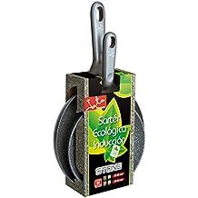 Jata Hogar SET SP - Set de 2 sartenes ecológicas para inducción