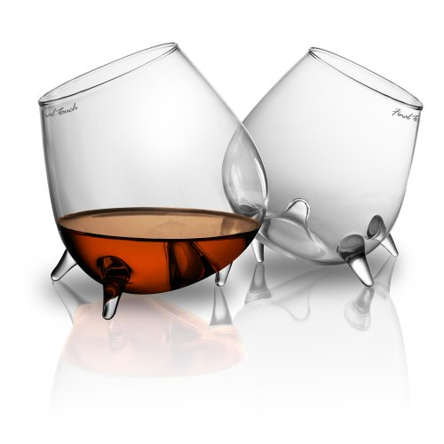 Final Touch Relax Cognac Glasses (Set of 2)