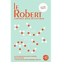 Coffret Dictionnaire des jeux de lettres relié + Les mots croisés du Petit Robert - Cahier 1