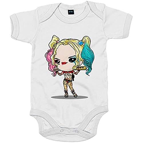 Body bebé Chibi Kawaii Harley Quinn Suicide Squad parodia