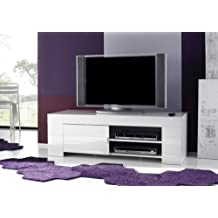 Tv möbel weiß hochglanz hängend  Suchergebnis auf Amazon.de für: lowboard 140