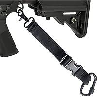 Uso del Sistema de Adaptador de la Correa de la Eslinga de Pistola táctica en Chaleco táctico y Mochila de Caza Lanzamiento rápido Honda de Rifle Sling Airsoft de 1 Punto