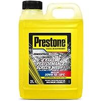 Líquido para limpiar parabrisas PRE-SW2 de Prestone, funciona hasta por debajo de -