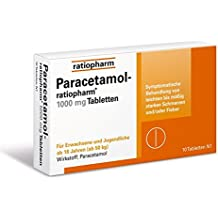 Paracetamol-ratiopharm 1000 mg Tabletten, 10 St.