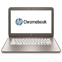 "HP  14-ak005nf Chromebook Cel N2840 - Portátil 14""(Intel Celeron, 4 Go de RAM, 16 Go, ChromeOS, plateado), teclado AZERTY, negro [Importado de Francia]"