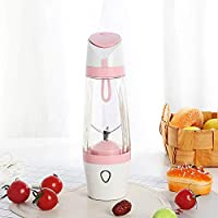 SUNLMG Portable Juicer Blender Home Fruit Blender - Seis Cuchillas 3D con Cable Cargador USB para