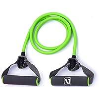 Resistance Fitnessbändern Liveup SPORTS Toning Tube Gymnastikbänder Widerstandsschleife für Yoga, Pilates, Reha-Sport Physio-Gymnastik - Für Männer & Frauen - Hergestellt aus Natürlichem Latex- LS3201